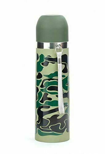 Camouflage Thermos Stainless Steel Leak Proof Brand New Free Shipping