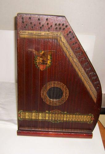 Antique Harp Ebay