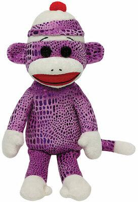 TY Socks Sockenaffe pink leucht 15cm Spielzeug Kinder Stofftier Kuscheltier ()