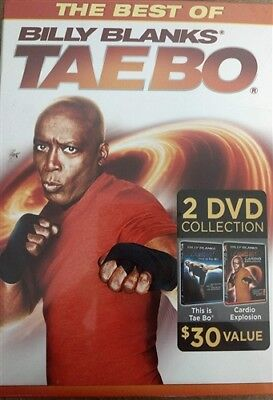 THE BEST OF BILLY BLANKS TAE BO 2 New DVD This is Tae Bo + Cardio