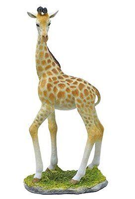 10 25  Giraffe Statue Sculpture Figure Wild Animal Figurine Safari Decor