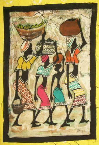 African Batik Art Ebay