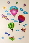Aeroplane Wall Stickers