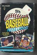 1981 Donruss Box