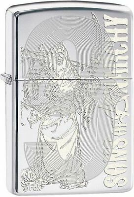 Zippo 28957, Sons of Anarchy-Grim Reaper, High Polish Chrome Finish Lighter