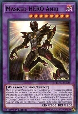 43 Cards Change Masked Hero Budget Deck NM Dark Law Anki Yugioh