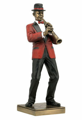 Jazz Band Collection - Clarinet Player Sculpture Musician Statue Figurine