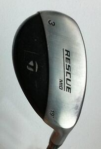 TaylorMade Hybride #3 RESCUE Mid 19* DROITIER tige STIFF