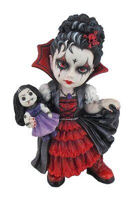"6"" Gothic Vampire Girl Statue Fantasy Collectible Figurine Figure Voodoo Doll"