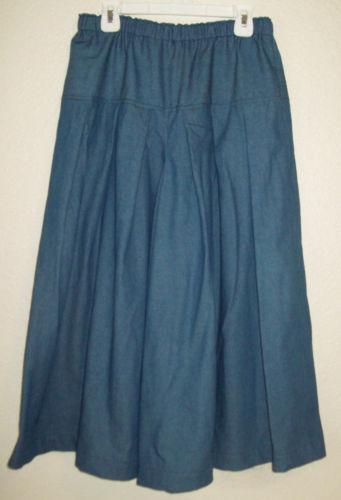 denim skirt size 10 ebay