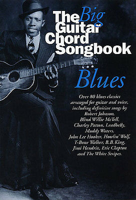 Big Guitar Chord Songbook Blues Learn to Play Piano Guitar Lyrics Music Book