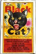Black Cat Firecracker Labels