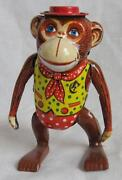 Vintage Tin Toy Monkey