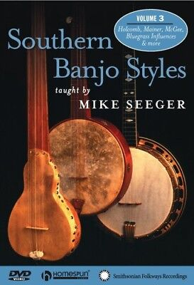 Southern Banjo Styles: Three Songs [New DVD] Banjo Style Dvd