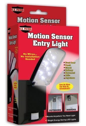 Motion Sensor Entry Light Ebay