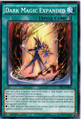 3x Yugioh TDIL-EN059 Dark Magic Expanded  Common - 1st Edition Card