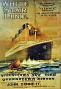 White Star Line Postcards