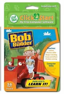 Leapfrog Bob The Builder Pre K to K Project: Learn It! 3-6 yrs