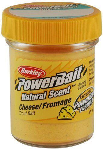 Berkley PowerBait Natural Scent Trout Bait 1.75 oz. Jar Trout Fishing Bait