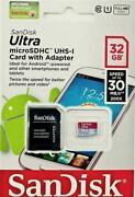 SanDisk 32GB 32 GB MicroSD SDHC Class 10