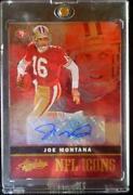 Joe Montana Autograph