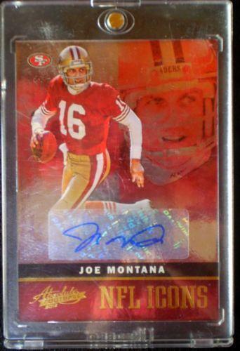 Joe Montana Autograph  936eaeb64