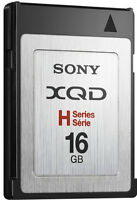 Sony XQD (H Series) memory card, 16 GB. For Nikon D4 & D4s.