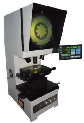 300mm Dia Profile Projector Measurement With Dro 20x