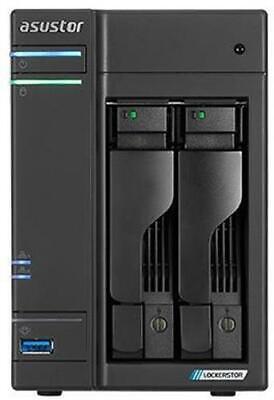 Asustor AS6602T Lockerstor 2 2-Bay Desktop NAS Enclosure