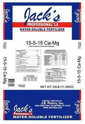 Jacks LX Cal-Mag 15-5-15 25lbs. Fertilizer J.R. Peters Jacks