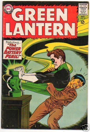 GREEN LANTERN :: 32 :: THE POWER BATTERY PERIL