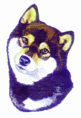 Embroidered Long-Sleeved T-Shirt - Shiba Inu BT3511  Sizes S - XXL