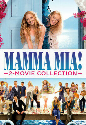 Mamma Mia! 2-Movie Collection [New DVD] 3 Pack