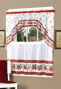 Strawberry Curtains