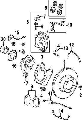 Porsche 996 Radio Parts Catalog