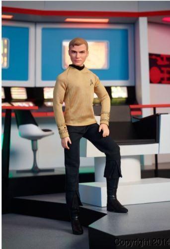 2016 Star Trek Captian KIRK Barbie Ken Doll 50th Anniversary IN STOCK NOW  - $40.00