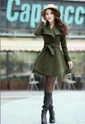 New Look Green Coat