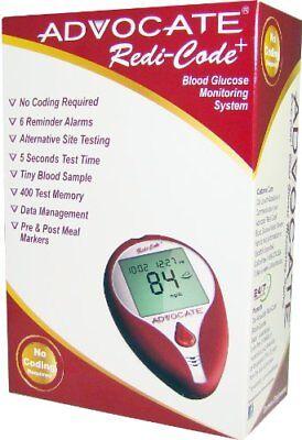 Advocate Redi-Code Plus Non-Speaking Blood Glucose Monitoring Meter