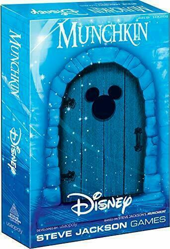 USAOPOLY Munchkin Disney Card Game | Munchkin Game Featuring Disney 107a1