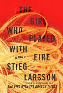 The Girl Who Played With Fire-Stieg Larsson-Hardcover/Like New