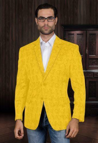 Mens Yellow Blazer | eBay