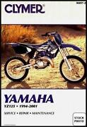 Yamaha YZ125 Manual