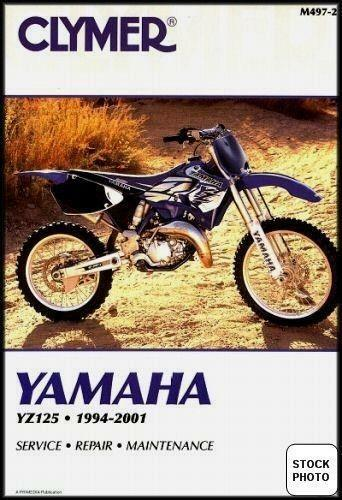 2001 yamaha yz125 motorcycle owners service manual.