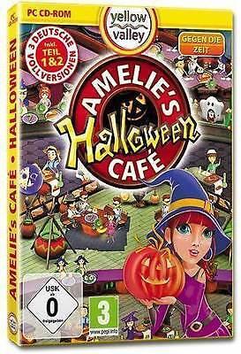 PC Computer Spiel ***** Amelies Cafe Halloween **************************NEU*NEW
