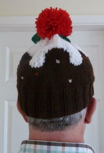 Knitted Christmas Pudding Ebay