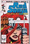 Red Sonja 1 Marvel