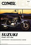 Suzuki GS550 Manual
