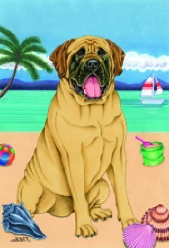 Beach Garden Flag - Mastiff 691131
