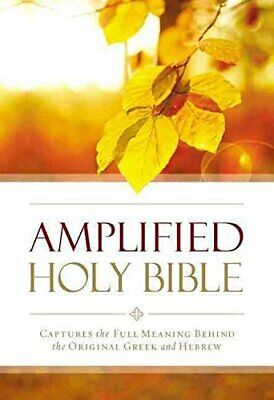 Amplified Outreach Bible  Paperback by Zondervan New Paperback Book