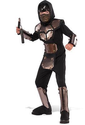 Kids Iron Phantom Ninja Costume Assassin Japanese Warrior Size Lg 12-14 (Assassin Kids Costume)